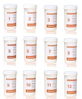 Dr. Schüssler-salts set 1